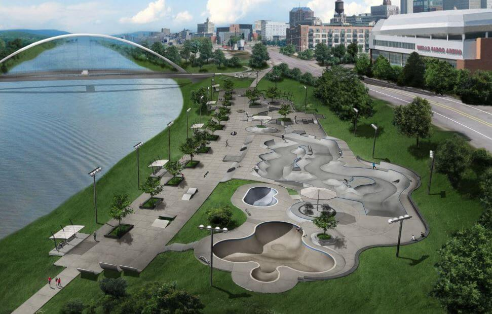 Des Moines Regional Skatepark Final Design Reveal