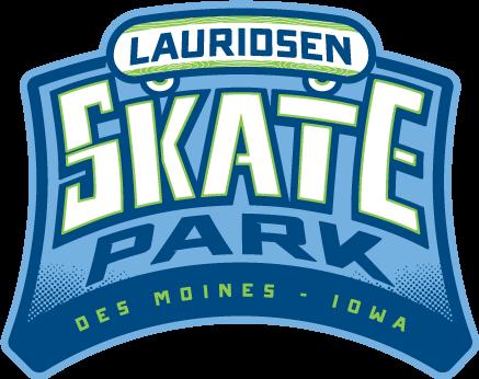 Lauridsen Skatepark logo