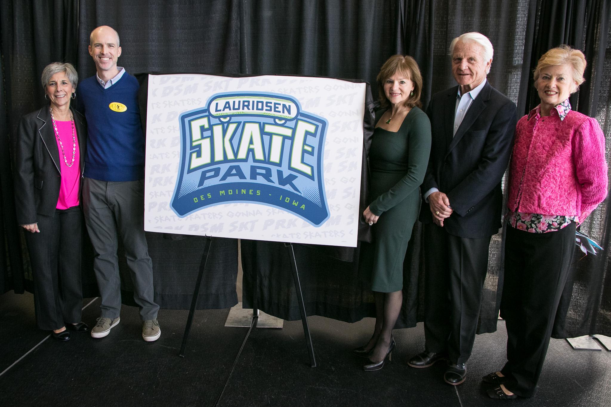 Lauridsens' $1M donation lifts skate park campaign