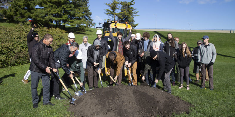 LAURIDSEN SKATEPARK BREAKS GROUND IN DOWNTOWN DSM