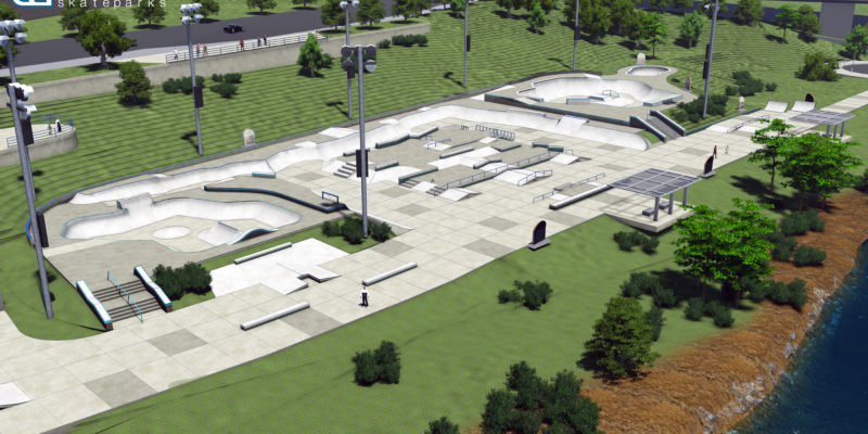 Skatepark lands $500k state grant, closes in on doubled $6.1 million budget