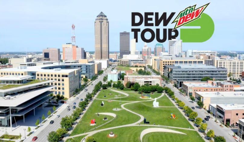 Dew Tour Coming to Des Moines
