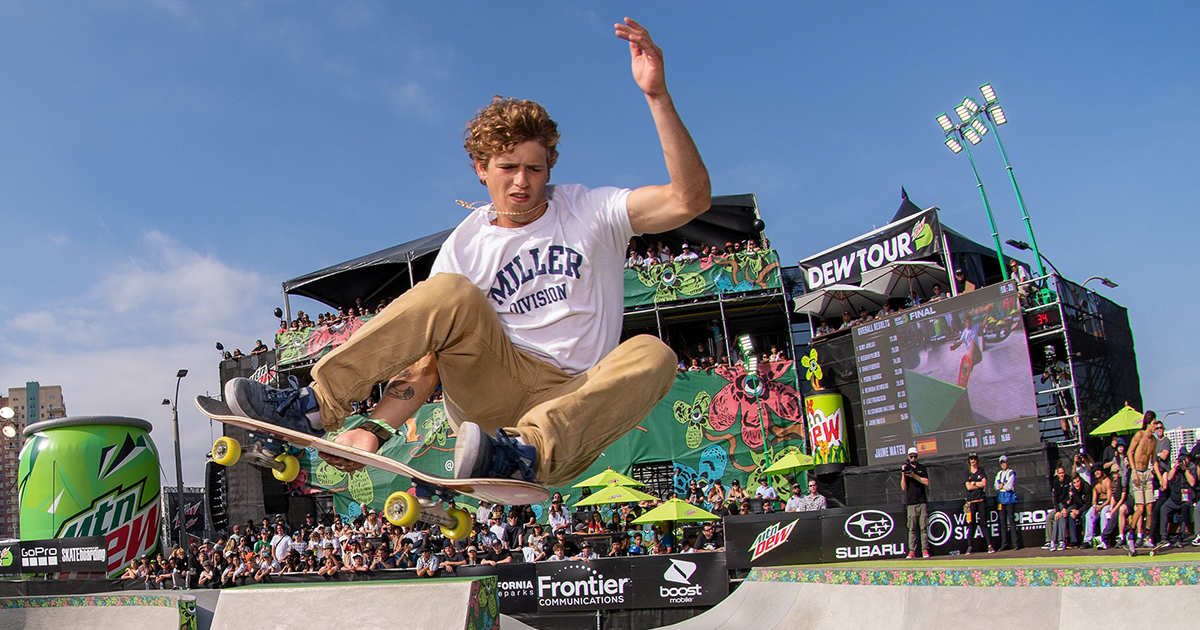 2021 Dew Tour Street Skateboarding Course Preview